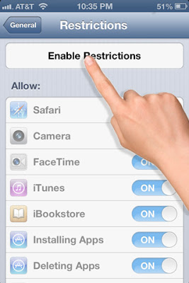 """5 Minutes to a Kid-Proof iPhone & iPad - """"hidden secrets"""" to simply ensure your kids don't delete your apps or contacts or make purchases on your iPhone or iPad!! And also a trick to limit their access once within an app! #iphone #ipad #technology #iphonetricks #ipadtricks #apple"""