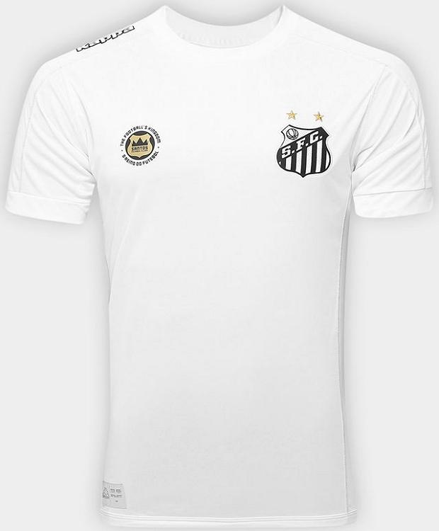 Kappa lança a nova camisa titular do Santos - Show de Camisas c2f2afe788c2b