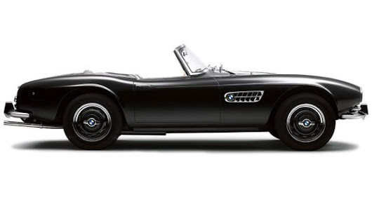 """The dream of the Isar"": The BMW 507."
