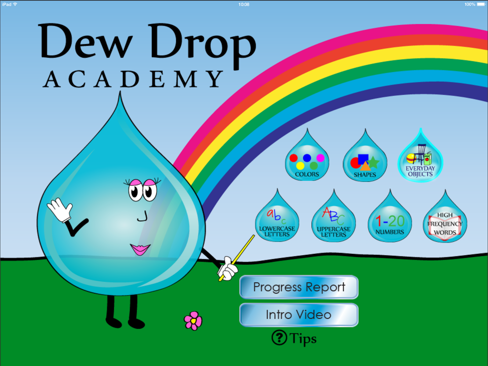 Dew Drop Academy {app review} | <!--Can't find substitution