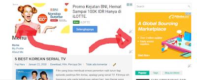Cara pasang iklan Google Adsense di Blogger