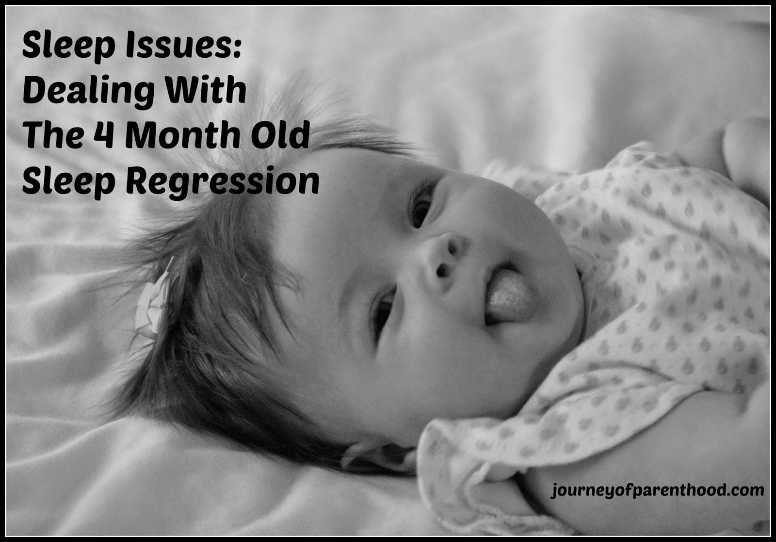 babywise 4 month sleep regression