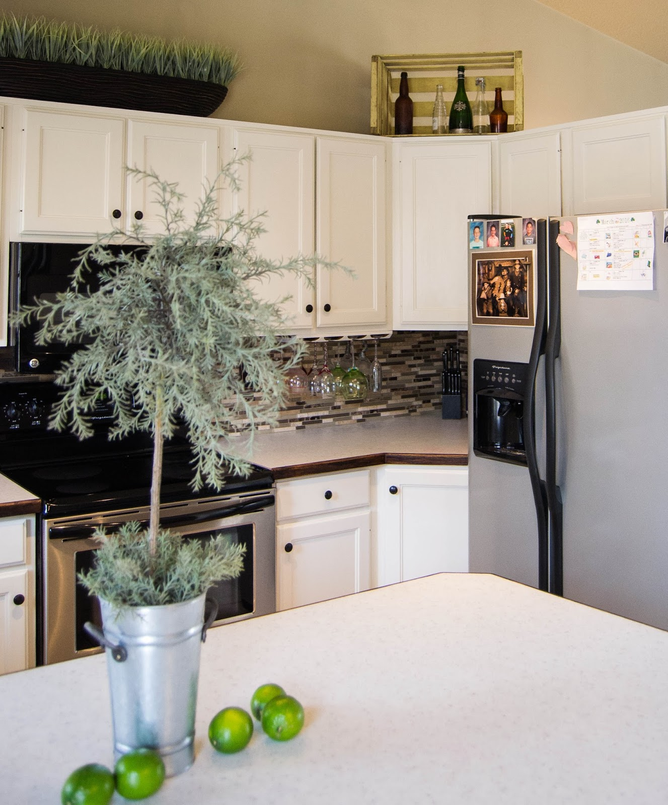 Down to earth style oak to bright kitchen update Bright kitchen