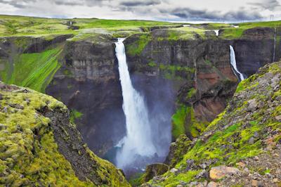 Seis cascadas del sur de Islandia