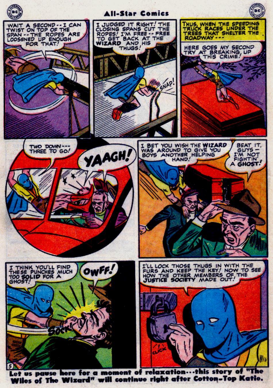 Read online All-Star Comics comic -  Issue #34 - 30
