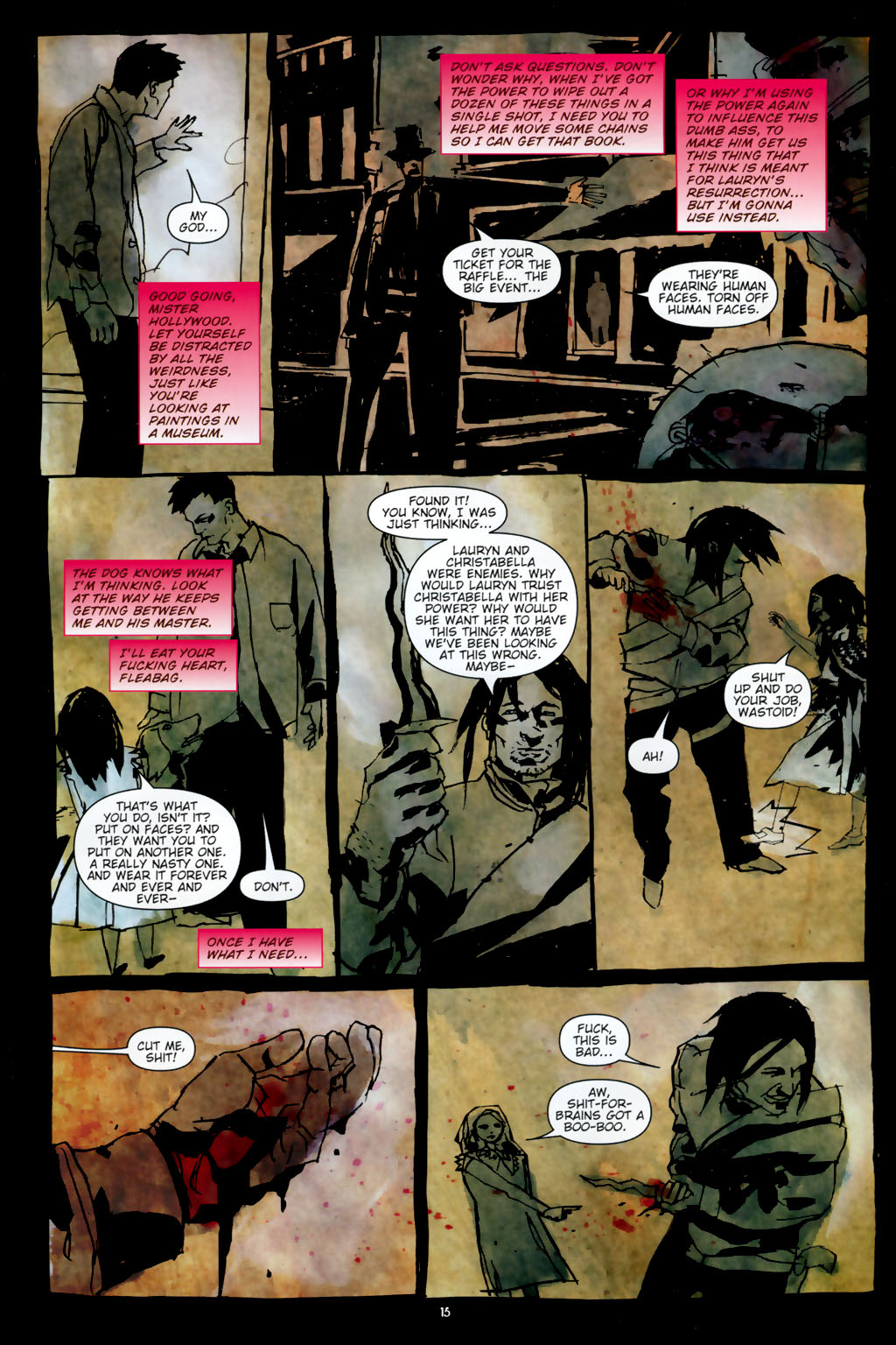 Read online Silent Hill: Dead/Alive comic -  Issue #3 - 17