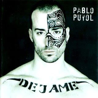Foto de Pablo Puyol en portada de disco