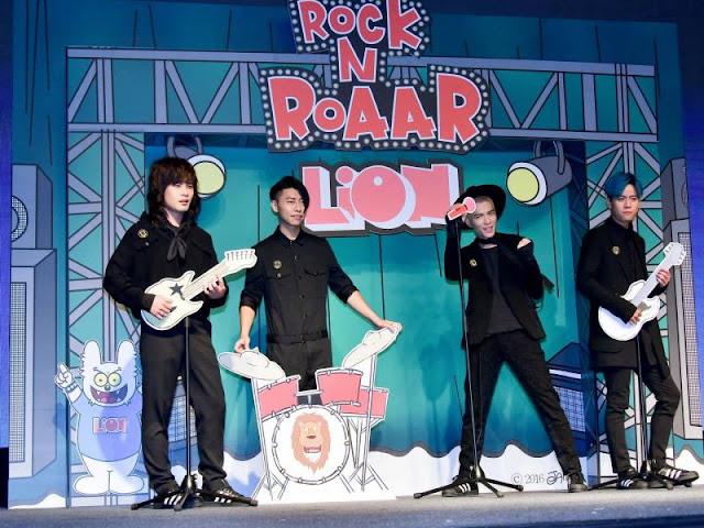 蕭敬騰領軍獅子合唱團全新專輯《LION》