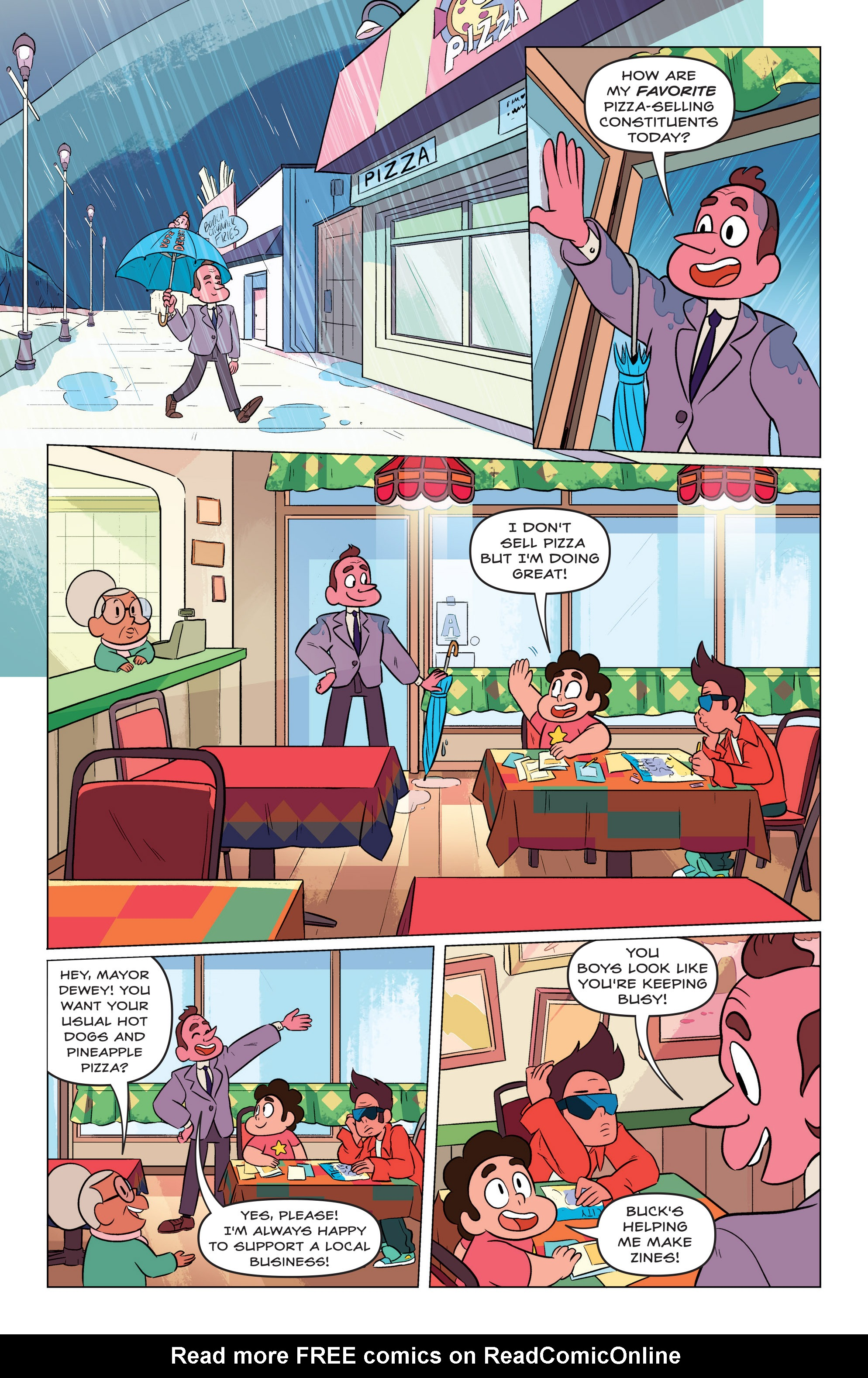 Read online Steven Universe Ongoing comic -  Issue #3 - 3