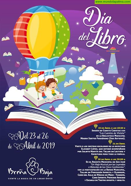 BREÑA BAJA: Intensa Semana del Día del Libro