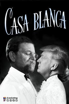 Memes reunión Trump y Rajoy