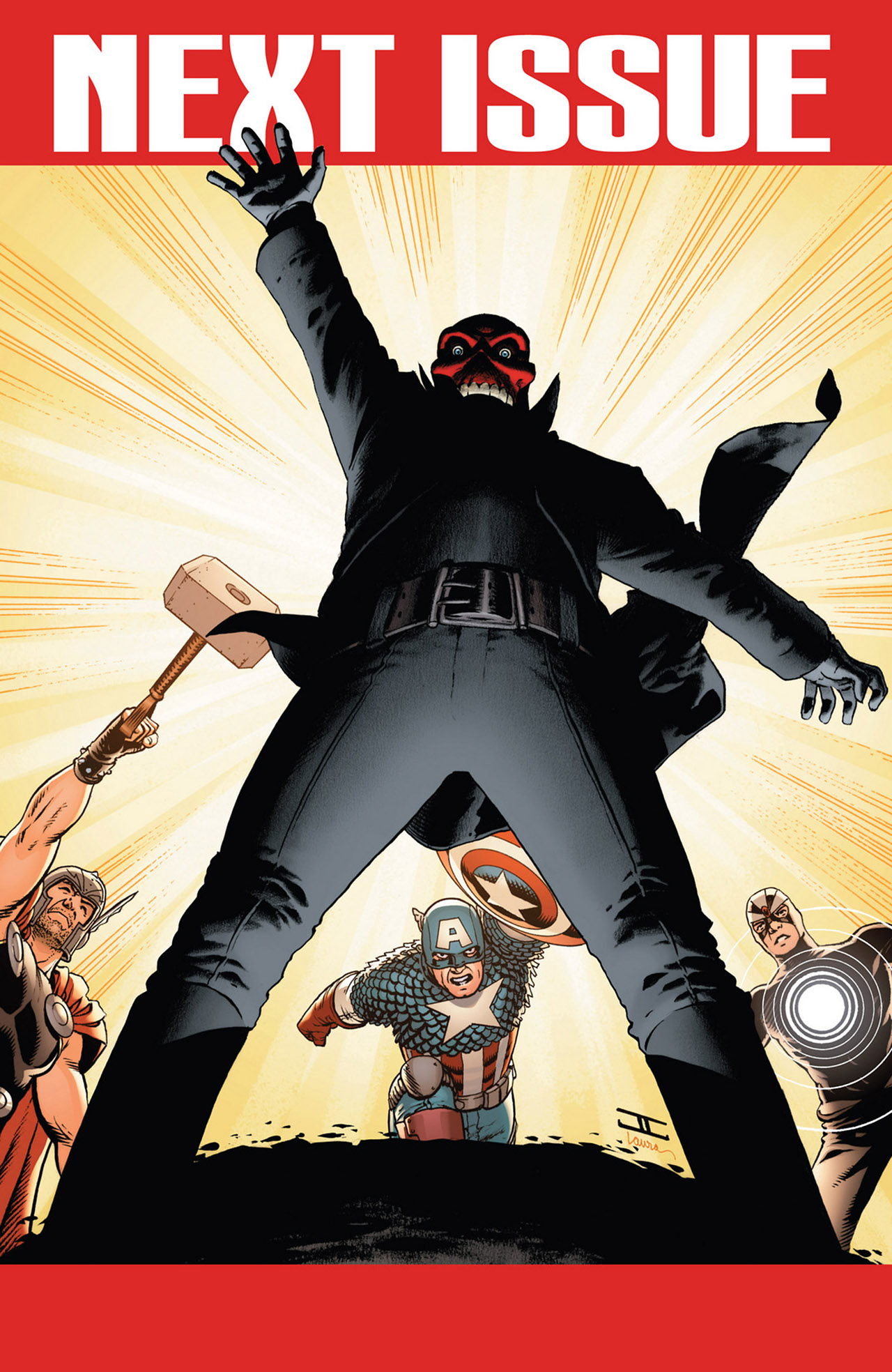 Read online Uncanny Avengers (2012) comic -  Issue #2 - 23