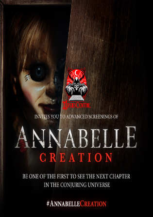 Annabelle Creation 2017 HC HDRip 800MB Hindi Dual Audio 720p Watch Online Full Movie Download bolly4u