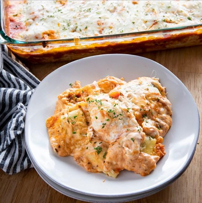 Million Dollar Ravioli Lasagna #dinner #familyrecipes