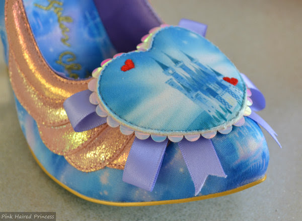 irregular choice faith in dreams shoe castle heart