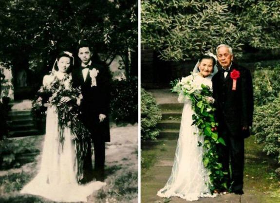 Pasangan berusia 98 tahun buktikan cinta sejati benar-benar wujud