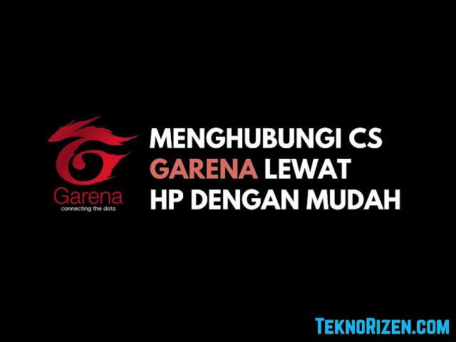 Cara Menghubungi Costumer Service Garena Lewat HP Tutorial Menghubungi Costumer Service Garena Lewat HP
