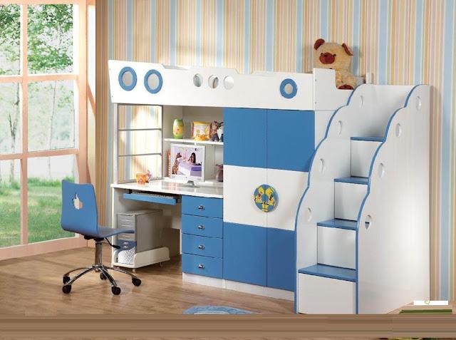 Bộ sưu tập giường tầng kết hợp bàn học đẹp tại hà nội