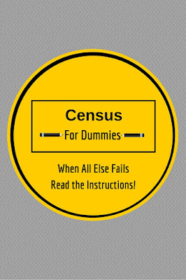 Census For Dummies - Desperately Seeking Surnames