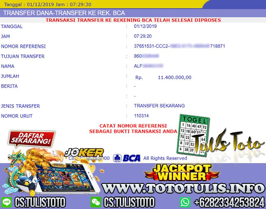 Jackpot Joker Slot Hoki Langsung Dibayarkan