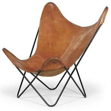 The Butterfly Chair, BKF Or Hardoy Chair, Originally Designed In 1938 By A  Trio Of Architectural Designers   Jorge Ferrari Hardoy, Juan Kurchan, ...