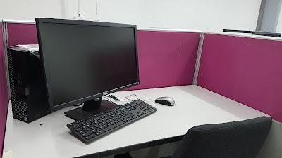 meja karyawan kantor custom