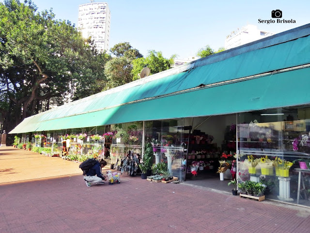 Mercado de Flores - Largo do Arouche - Republica- São Paulo