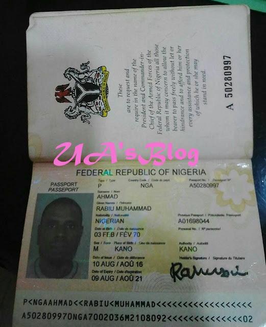 Man Arrested With $375,000 At Kaduna Airport (Photos)