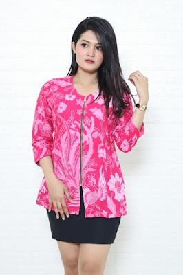Baju batik wanita modern dengan berbagai tehnik pembuatan