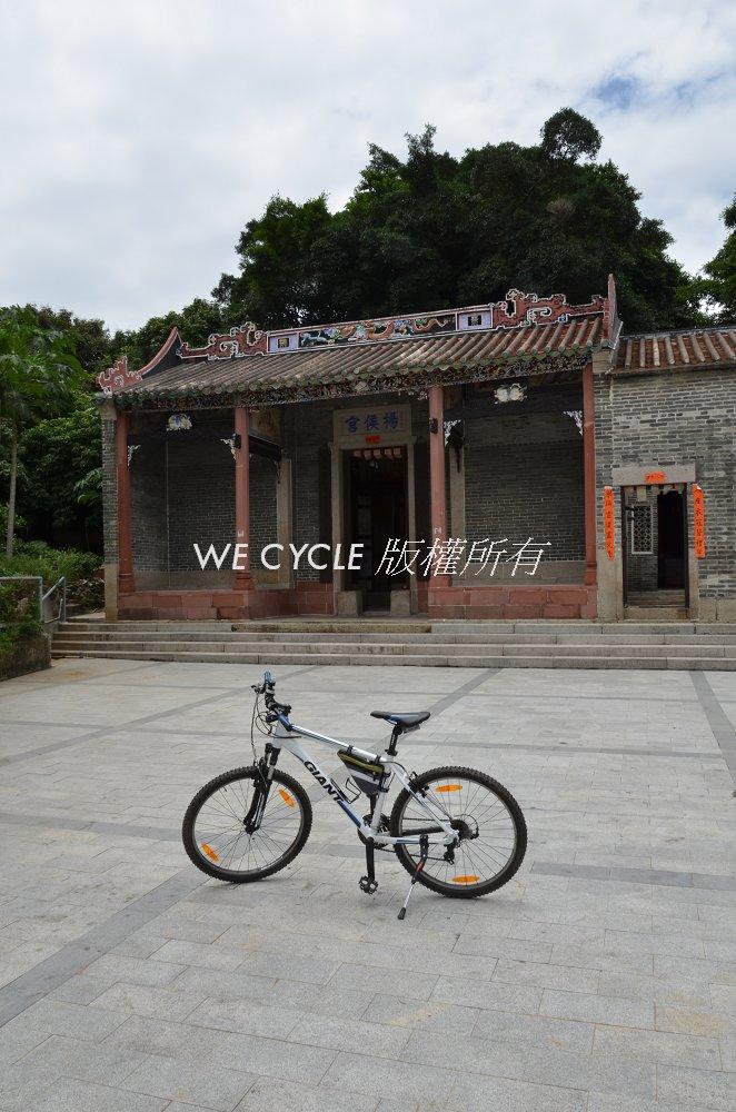 單車租賃: 廈村靈渡寺(內附路線圖)