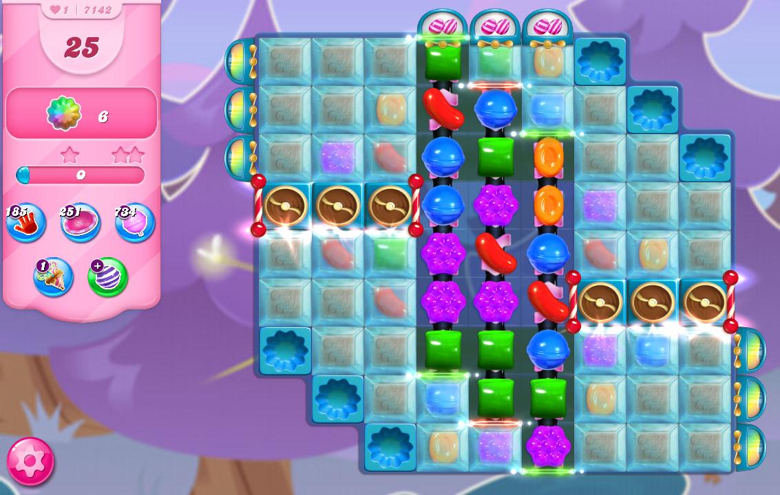 Candy Crush Saga level 7142