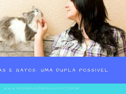 Grávidas e Gatos: Uma dupla possível