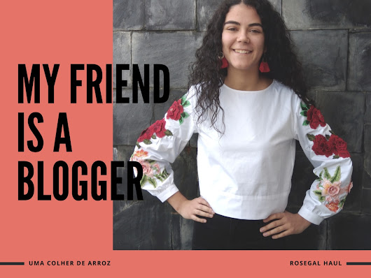 I turned my friend into a blogger for a day