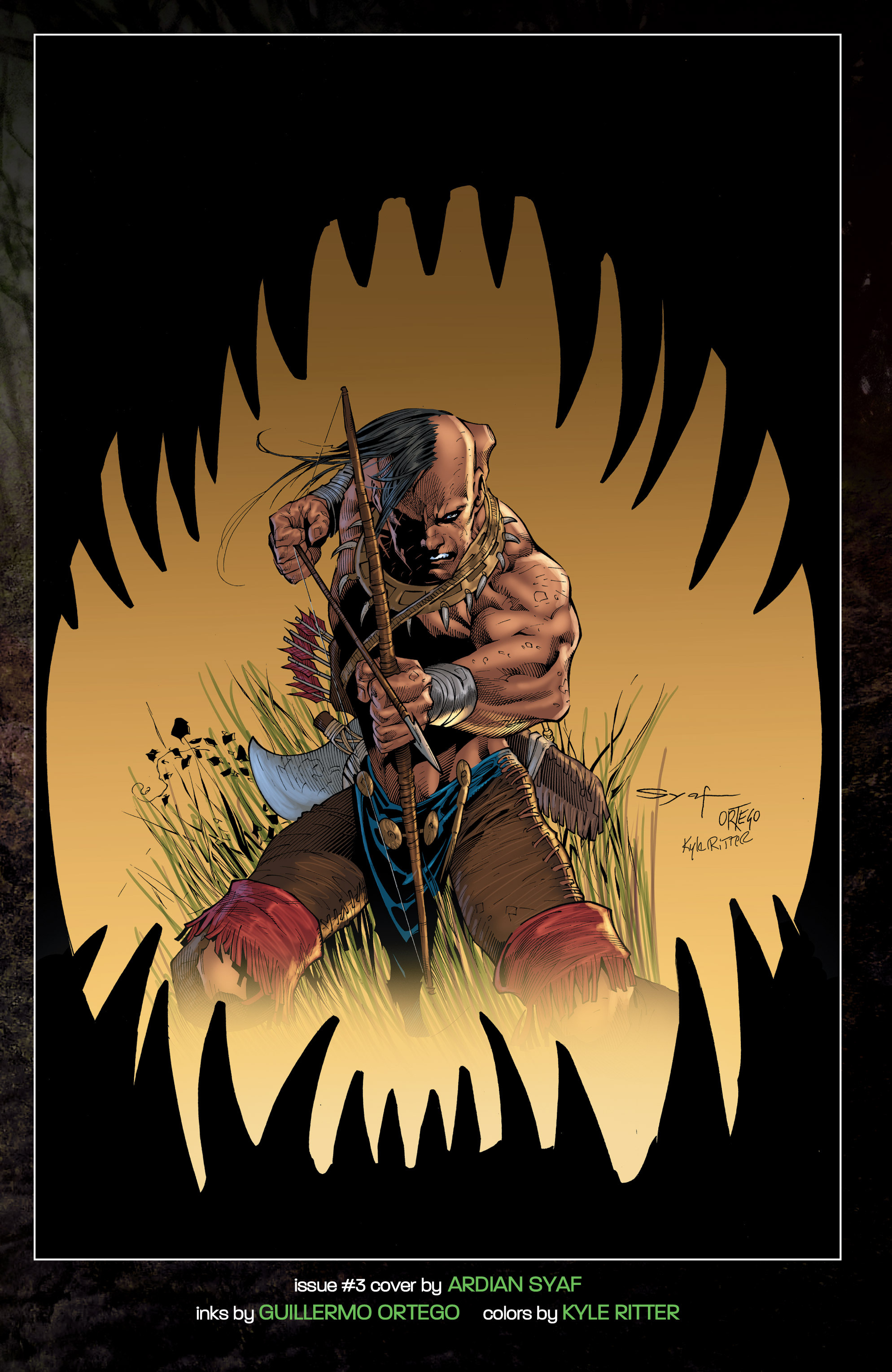 Read online Turok: Dinosaur Hunter (2014) comic -  Issue # _TPB 1 - 142