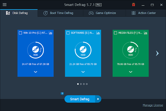 IObit Smart Defrag 5.8 PRO License Key 2018 - (NO CRACK)