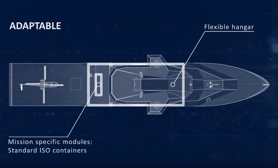 концептуальна платформа Vanguard від Kongsberg