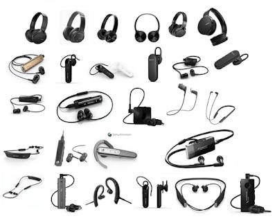 harga headset bluetooth sony