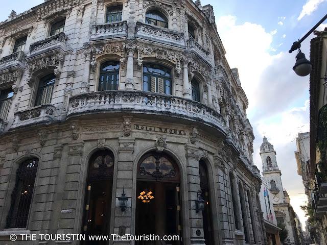 raquel facade  vieja havana cuba the touristin