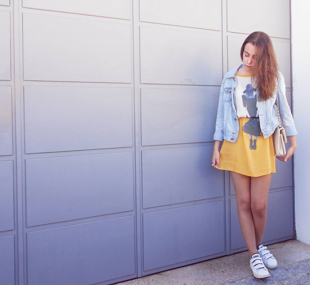outfit | i love yellow