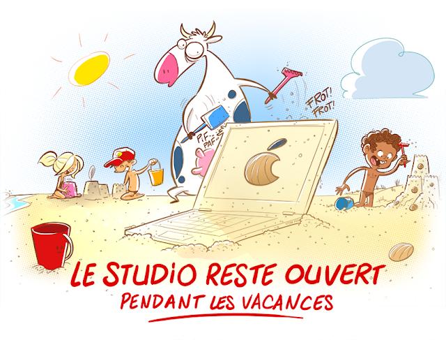 Création d'illustrations, graphisme, visuels en tout genre, affiche, flyer etc studio normand près de Caen.