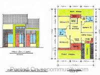 Sketsa Ukuran 6x9 Desain Rumah Sederhana