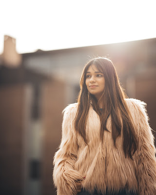 OOTD - Pink Fur Jacket
