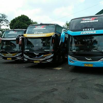 Sewa Bus Pariwisata di Jawa Full AC | 082161553333