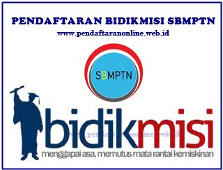 Info Pendaftaran Beasiswa Bidikmisi jalur SBMPTN Pendaftaran Bidikmisi Jalur SBMPTN 2019/2020