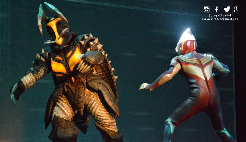 Aksi hebat Ultraman melawan rasaksa