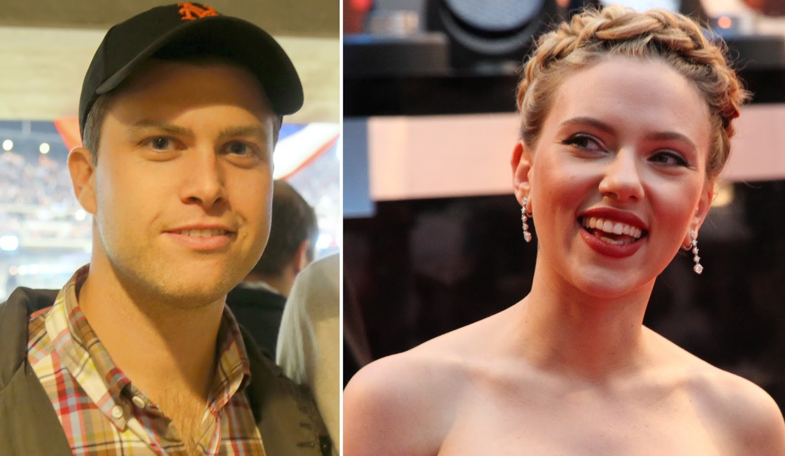 Scarlett Johansson And Colin Jost Make First Public Appearance As A Couple See Pics Soundpasta