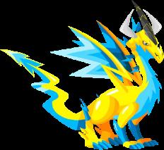Dragón Eléctrico (Adulto)