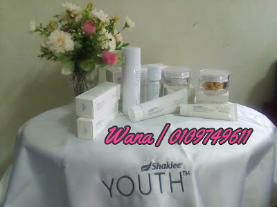 Skincare Youth Shaklee berkesan selamat semulajadi