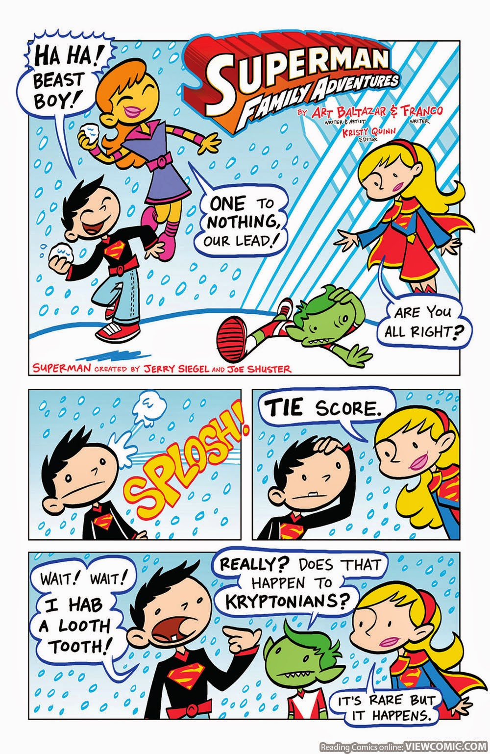Superman Family Adventures 007 2013 Read Superman Family Adventures 007 2013 Comic Online In High Quality Read Full Comic Online For Free Read Comics Online In High Quality