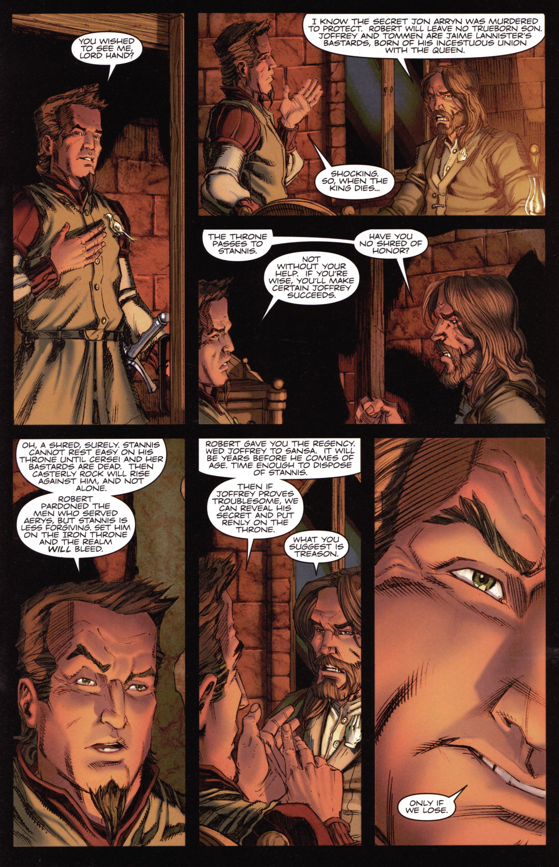 Read online A Game Of Thrones comic -  Issue #15 - 19